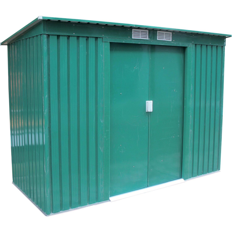 Acquistare e ordinare casette da giardino in metallo da obi for Casette in legno obi