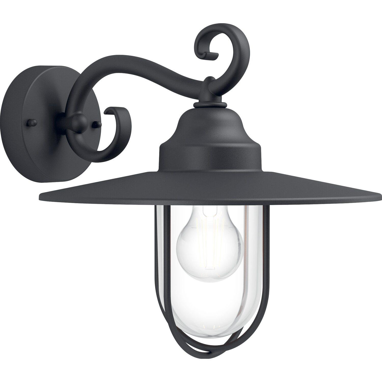 Philips applique da esterno pasture nera acquista da obi - Philips lampade esterno ...