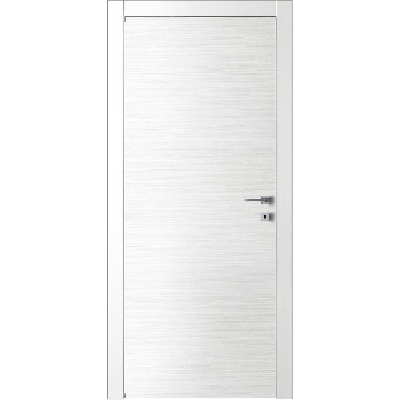 all'ingrosso online qui negozio ufficiale Porta a battente reversibile Lindos bianca 210 cm x 60 cm acquista ...