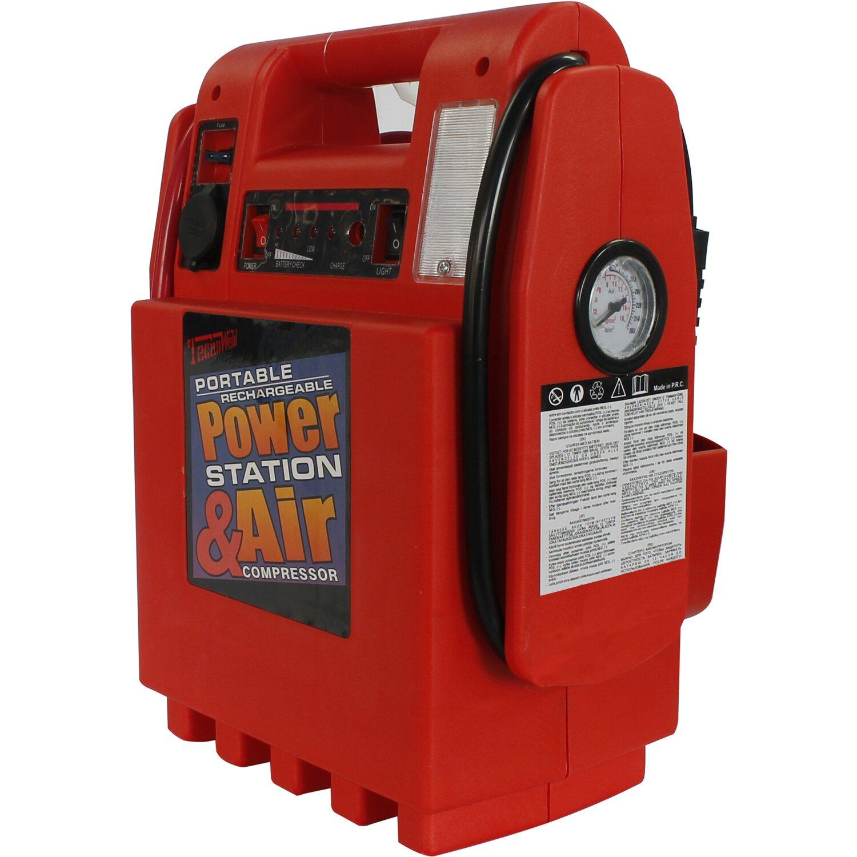 Awelco Caricabatterie Portatile Power 1600 con compressore e