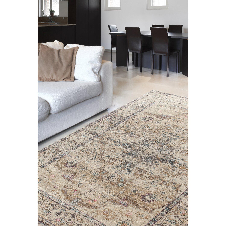 Tappeto arredo giorgia bianco dark beige 300 cm x 200 cm for Arredamento tappeti