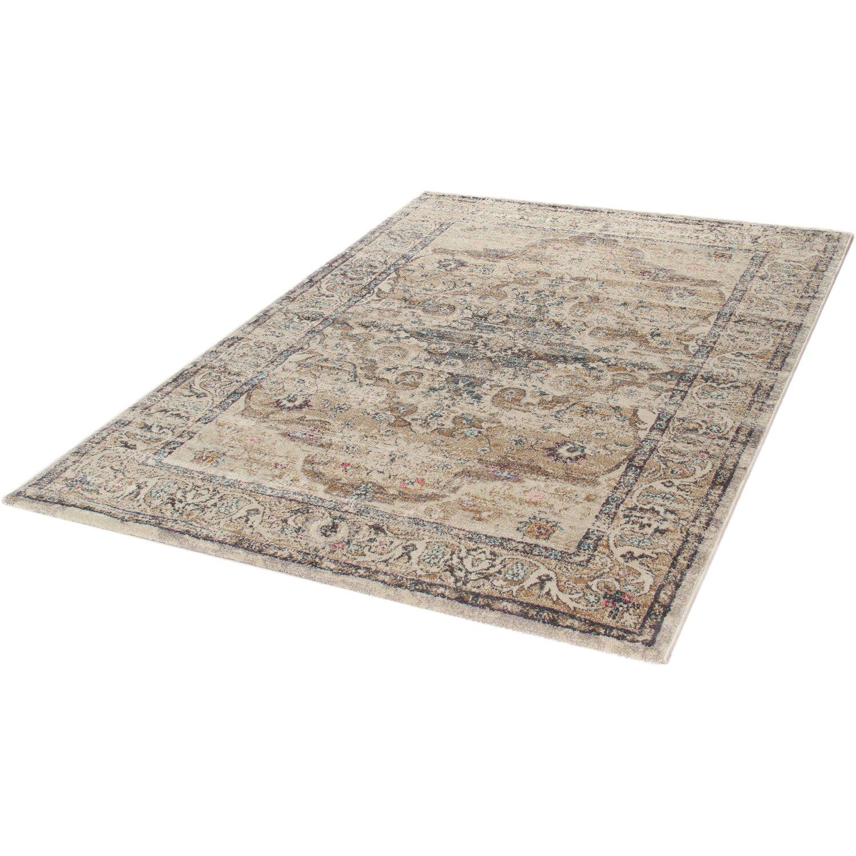 Riscaldamento A Pavimento E Tappeti tappeto arredo giorgia bianco-dark beige 190 cm x 133 cm