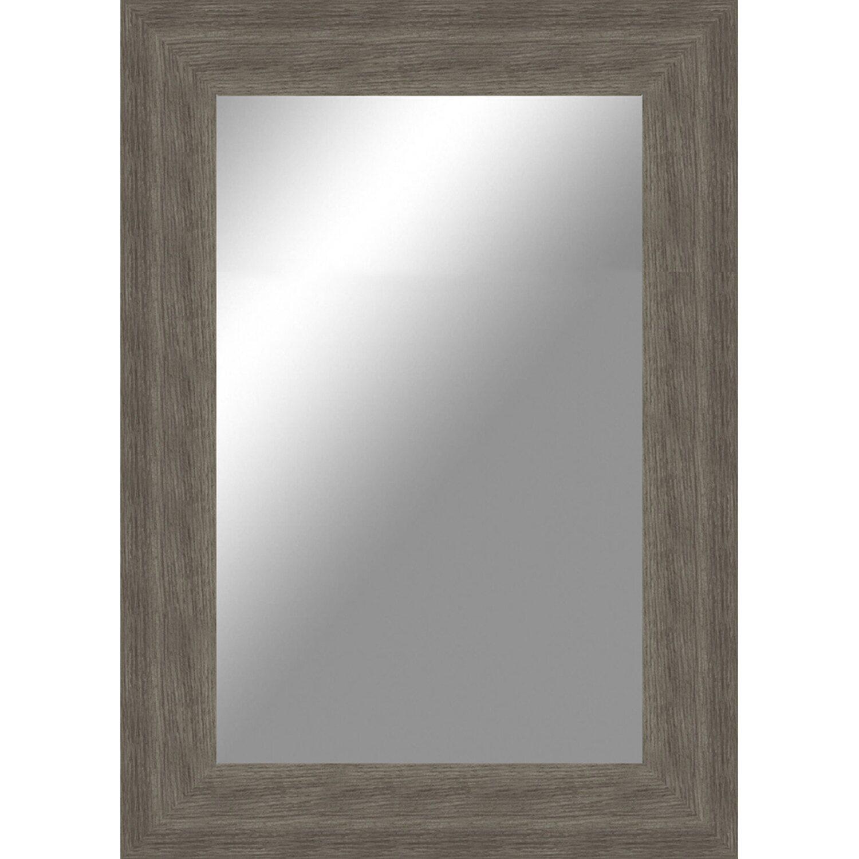Specchi Piccoli Da Parete.Specchio Osaka Rovere Grigio 50 Cm X 70 Cm