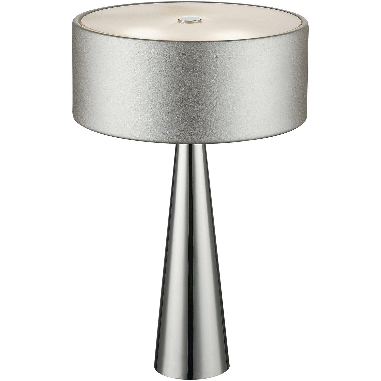Design Lampade Da Tavolo luce ambiente design lampada da tavolo heminguay 3 luci argento