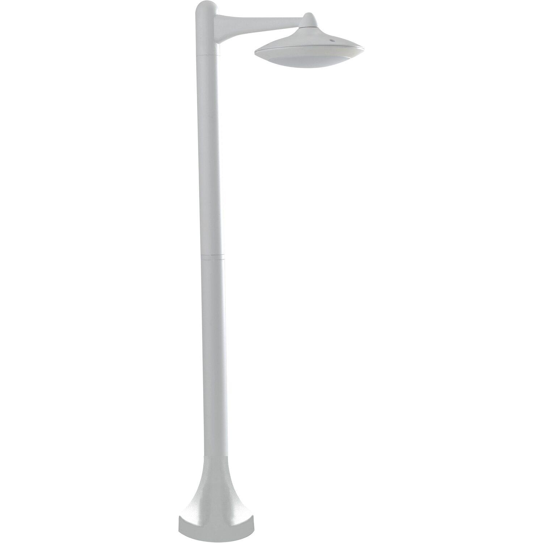 Lampioni Da Giardino Obi.Intec Lampione Alyson Led Integrato Alluminio Bianco Acquista Da Obi