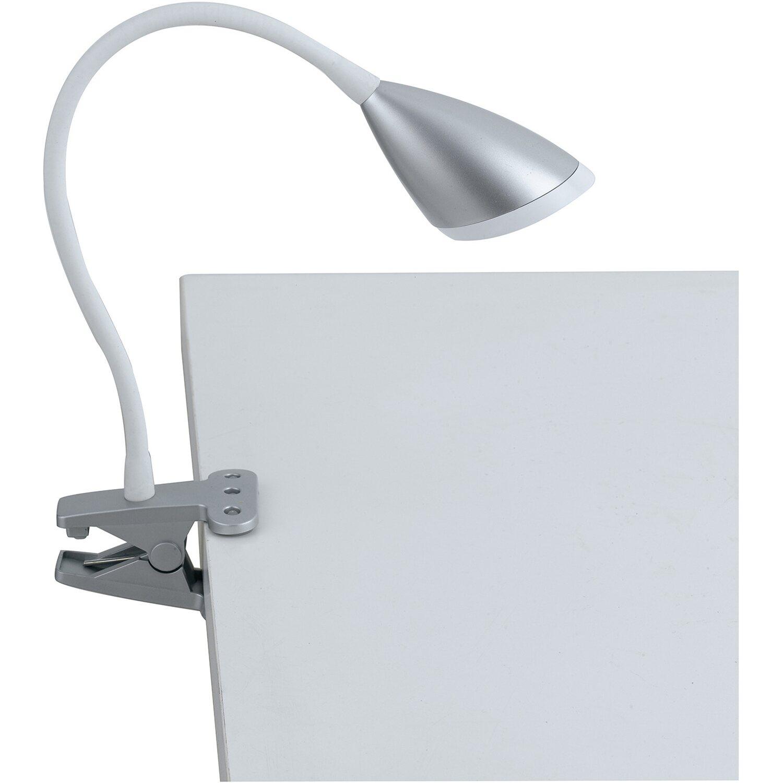 Luce ambiente design lampada da lettura hegel led con - Lampada da tavolo con pinza ...