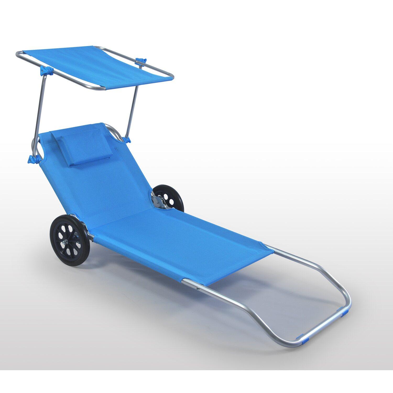 Carrello Sdraio Da Spiaggia.Spiaggina Carrello Con Ruote Trolley