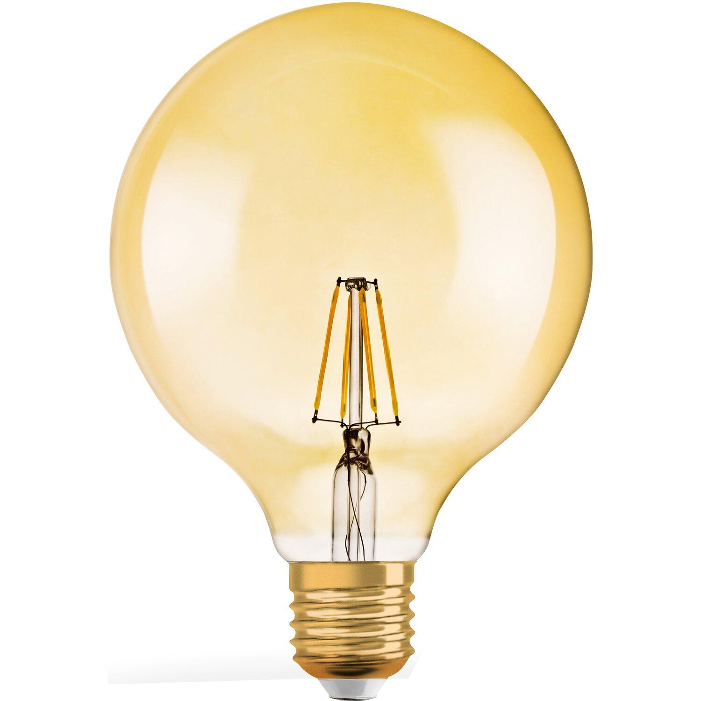 Lampadine Led E27 Luce Calda.Osram Lampada Led Vintage 1906 Globo E27 Luce Calda Dimmerabile