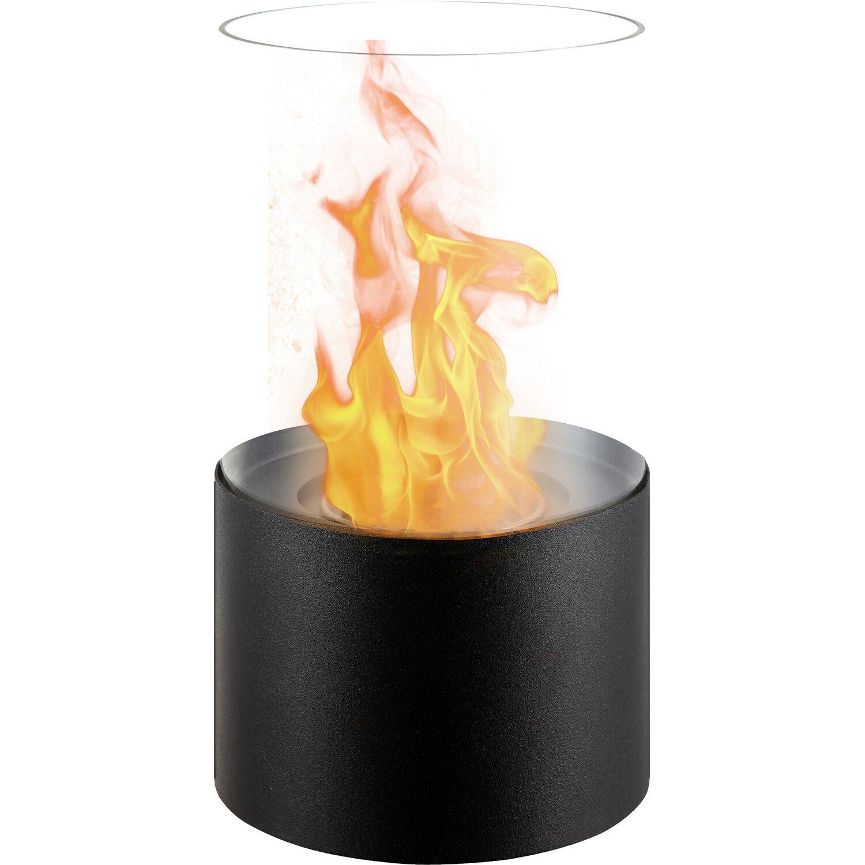 Qlima caminetto decorativo ffb017 a bioetanolo nero for Obi stufe a combustibile liquido