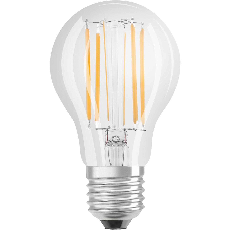 osram lampadina led tutto vetro goccia e27 luce calda