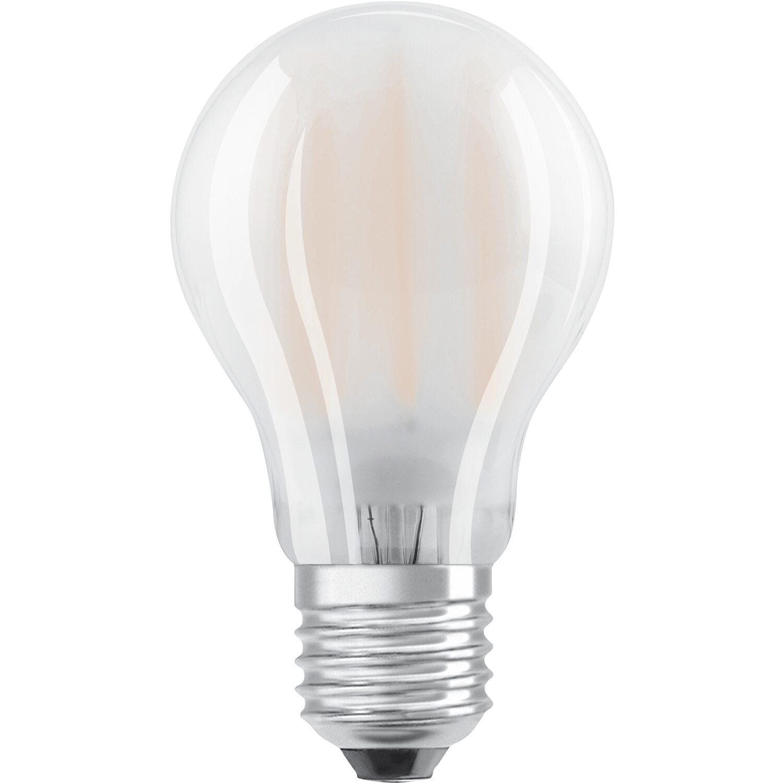 Osram lampadina led tutto vetro e27 luce calda dimmerabile for Lampadine led 5 watt