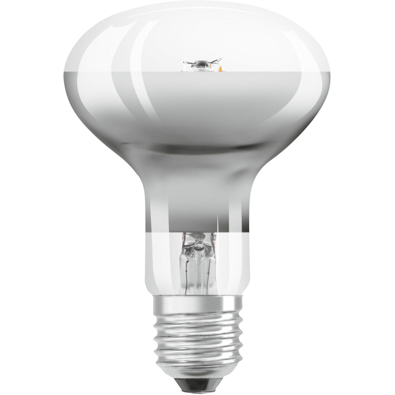 Osram lampadina led tutto vetro con riflettore r80 e27 for Lampadine led e27 da esterno