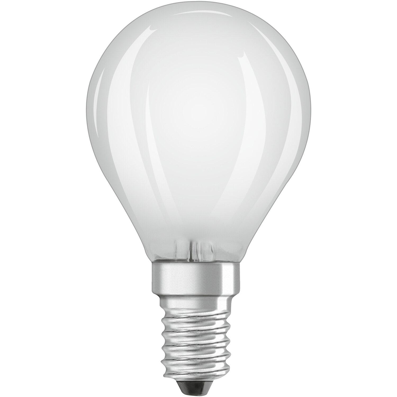 Osram lampadina led star hd lighting cri 90 sfera e14 for Lampadine faretti led luce calda