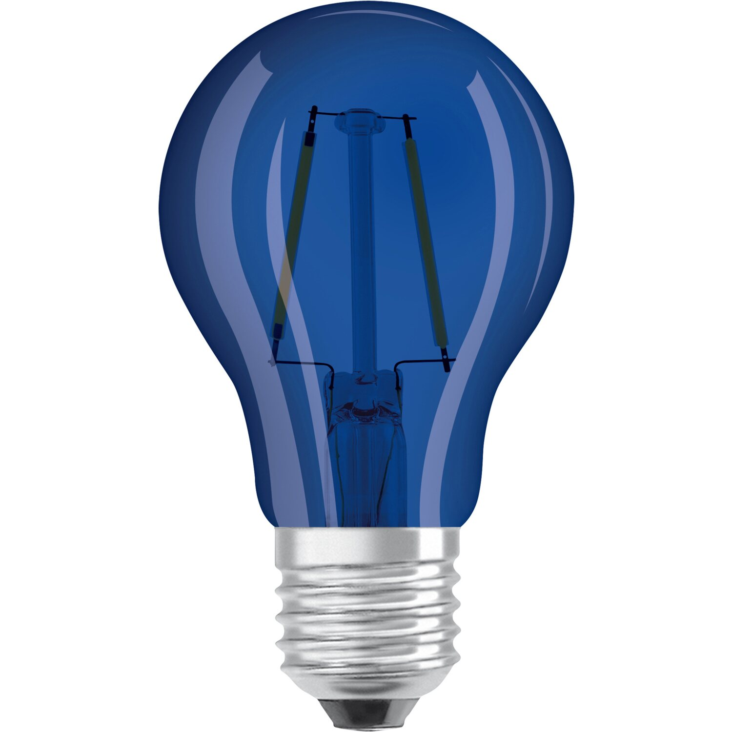 osram lampadina led decor goccia e27 blu acquista da obi