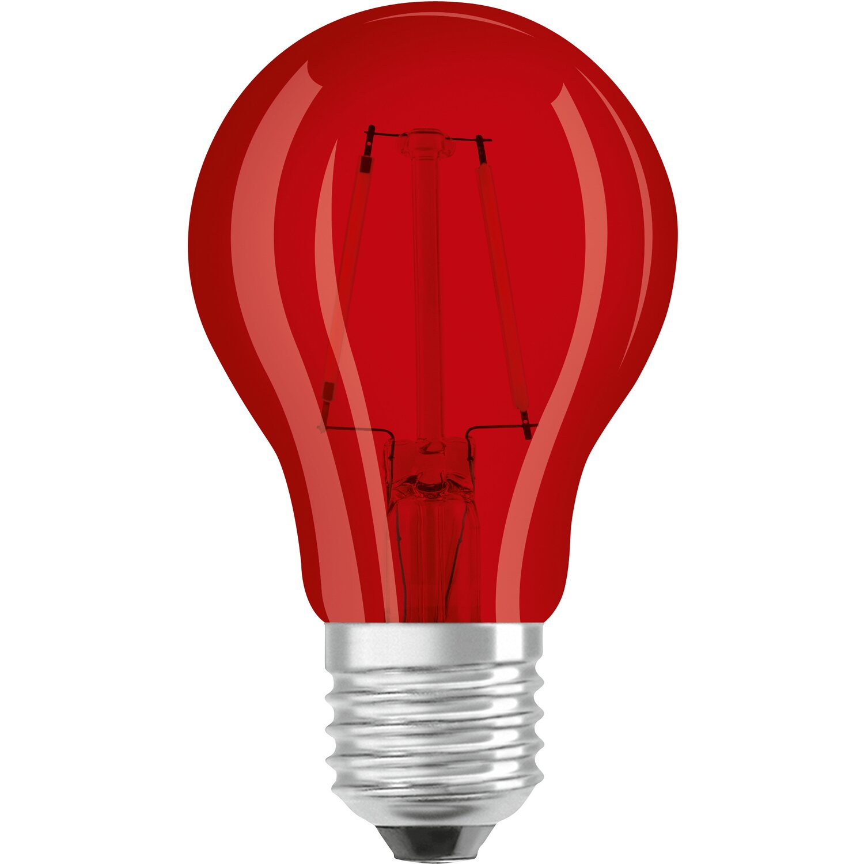 Osram lampadina led decor goccia e27 rosso acquista da obi for Offerte lampadine a led e 27