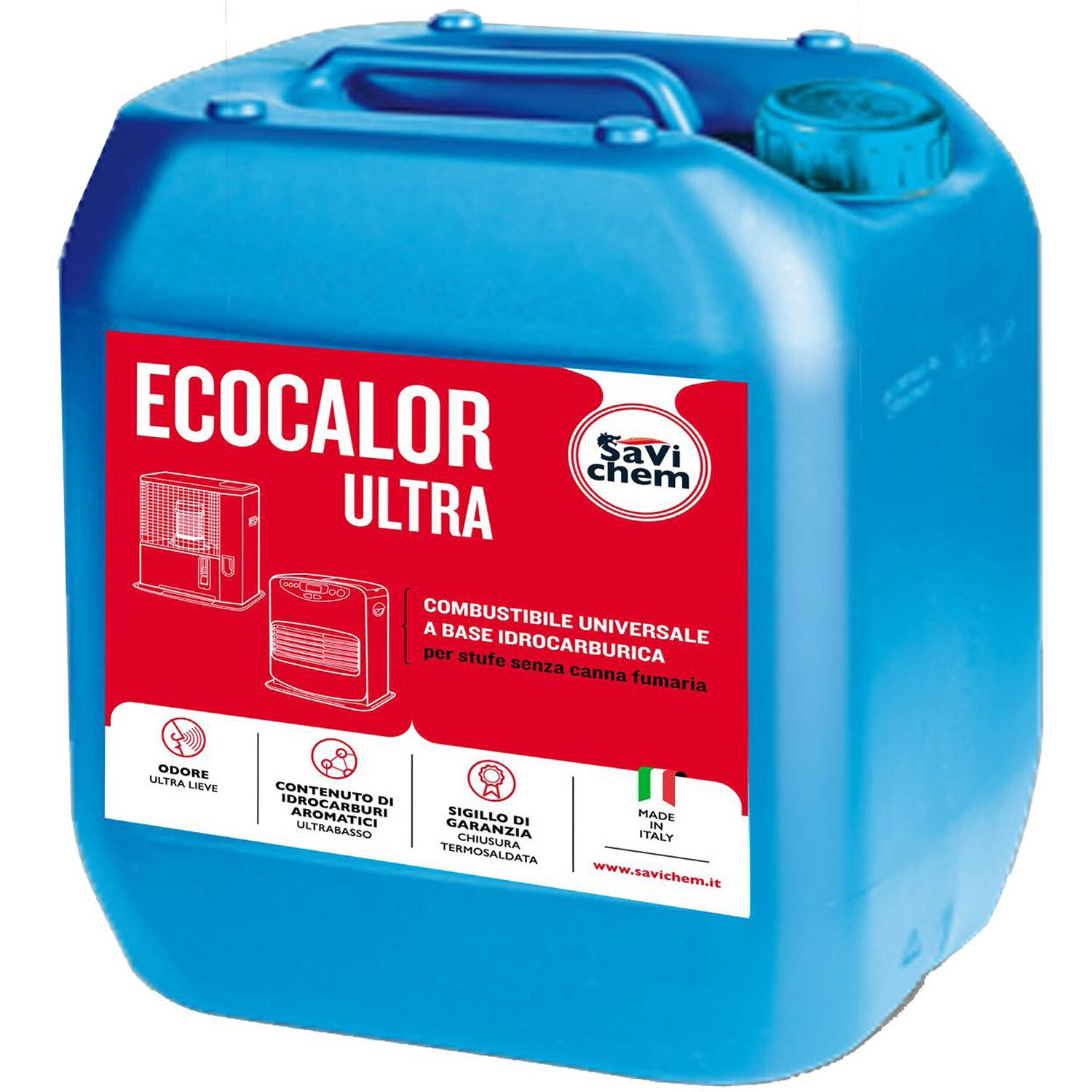 Combustibile liquido per ecocalor ultra tanica 5 l for Obi stufe a combustibile liquido