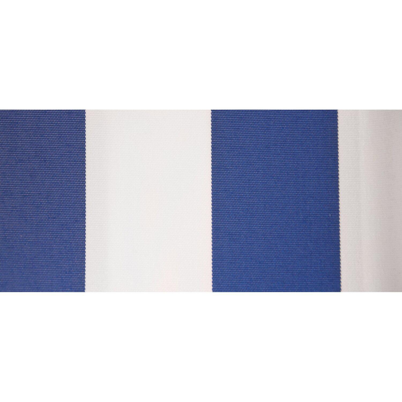 Tenda Da Sole Panarea Reclinabile 3 M X 2 M Bianco Blu