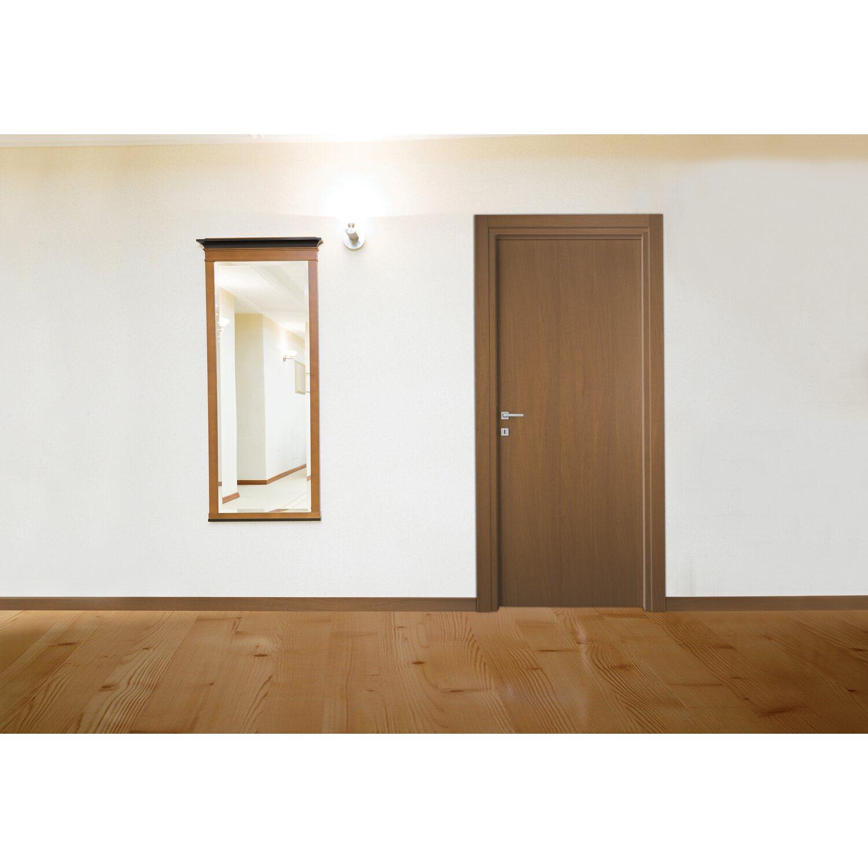 Porta battente reversibile first tanganika 210 cm x 80 cm - Porte interne obi ...