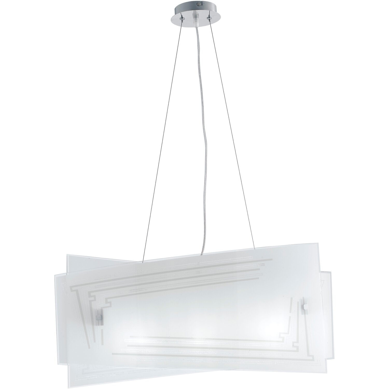 Luce Sospensione Design.Luce Ambiente Design Sospensione Concept 4 Luci E27 60 Cm X 120 Cm