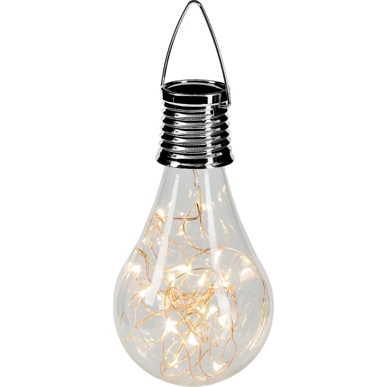 Catena Luminosa Per Foto lampada solare led a sospensione con lampadina con catena luminosa integrata