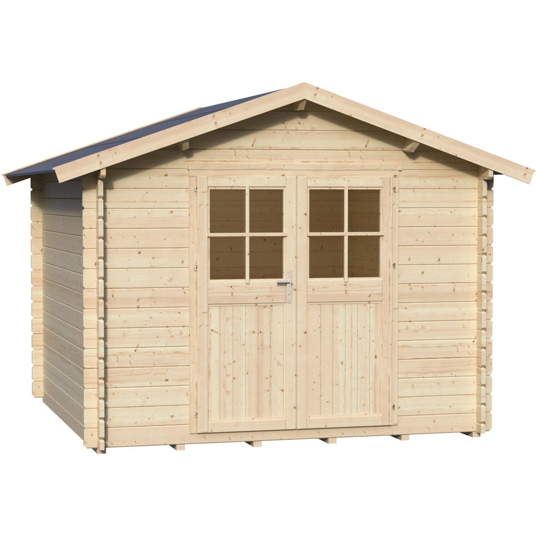 Casetta blockhouse torino in legno acquista da obi for Bricoman casette in legno