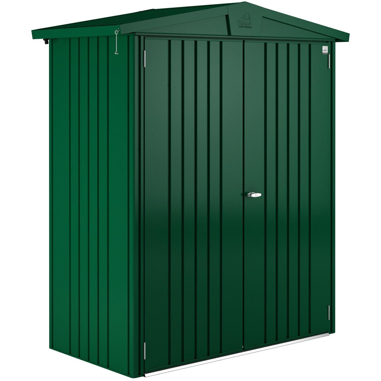 Biohort casetta portattrezzi europa verde scuro 172 cm x for Casette legno obi