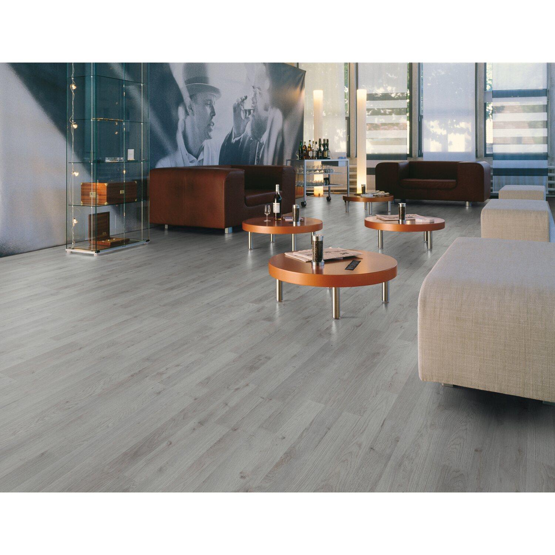 Pavimento laminato serie Standard rovere grigio 2,39 mq acquista da OBI