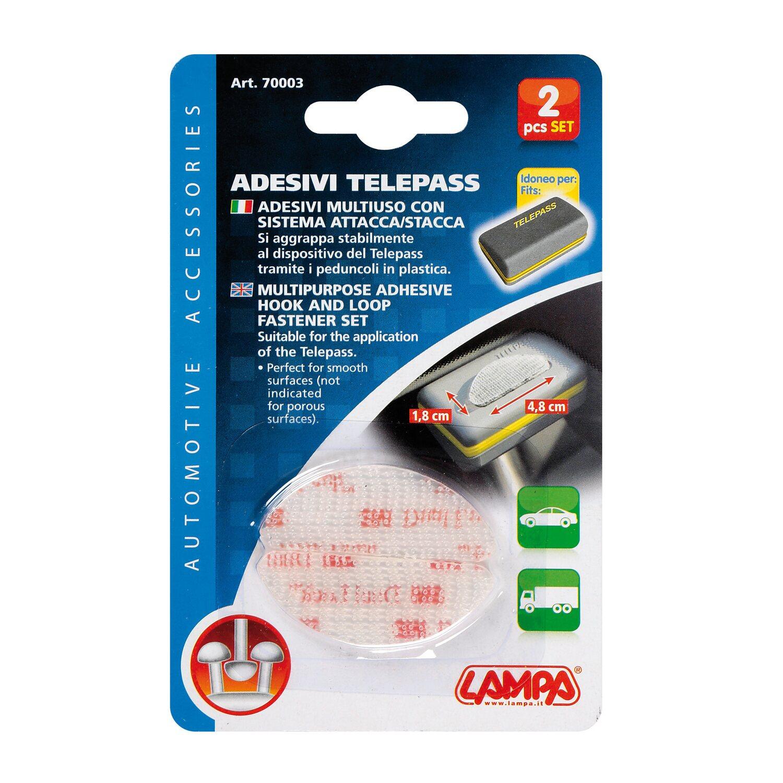 adesivo telepass auto  Adesivi Telepass, con sistema attacca/stacca, 2 pz acquista da OBI