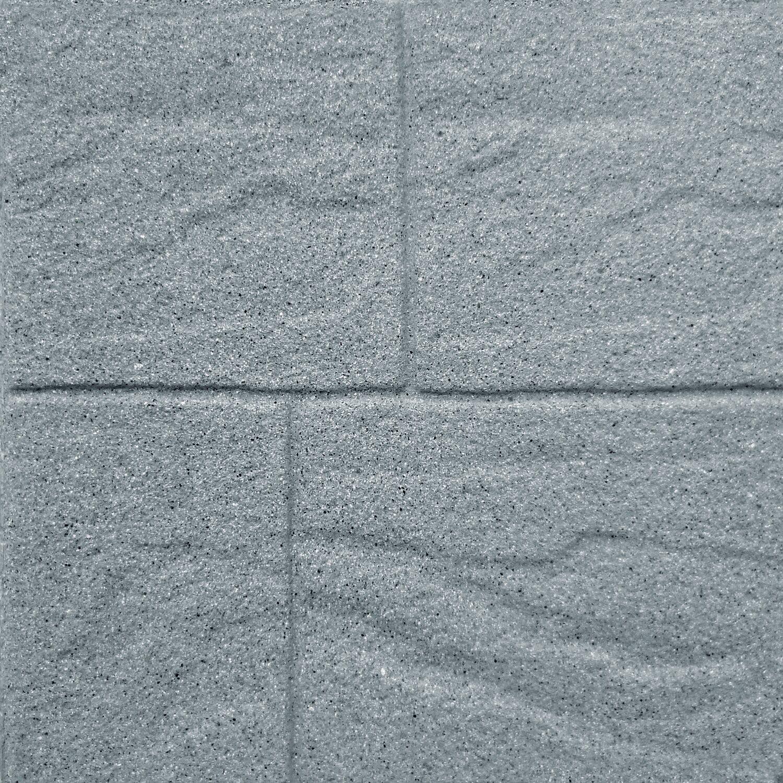 Pavimento In Cemento Prezzi pavimento mattone grigio 40 x 40 cm