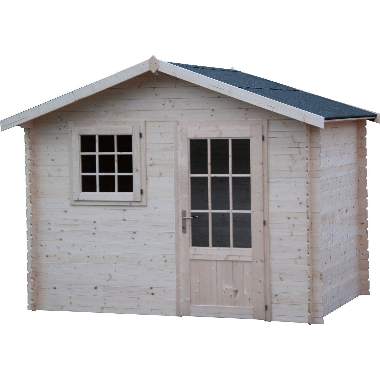 Casetta blockhaus in legno panarea cm 300x200 acquista da obi for Casette legno obi