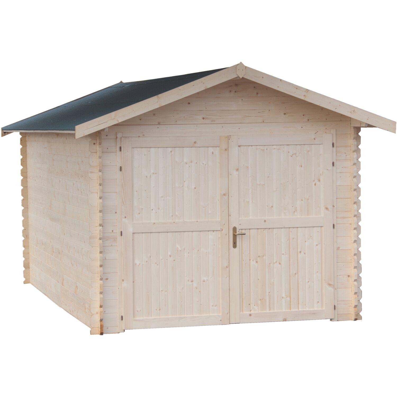 Garage blockhaus in legno sant andrea 300x493 cm acquista for Casette legno obi