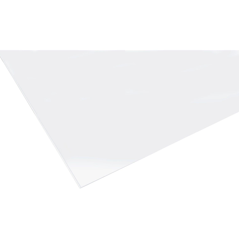 Lastra in vetro sintetico liscio poliver 500 mm x 1000 mm for Lastre vetro sintetico
