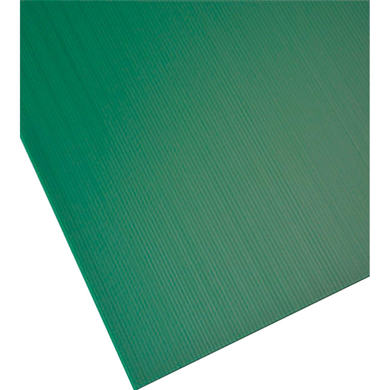 Lastra alveolare plastonda verde 500 mm x 500 mm x 2 5 mm for Lastre bituminose obi