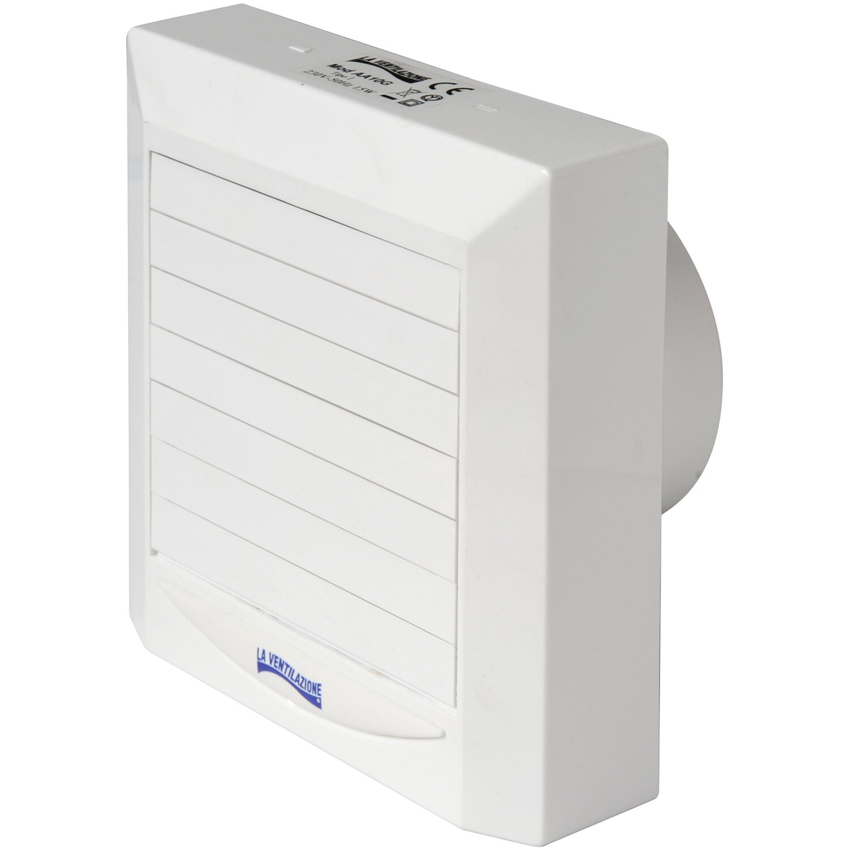 Aspiratore elicoidale a serranda automatica 11 w 100 mm acquista da obi - Vortice aspiratori per cucina ...