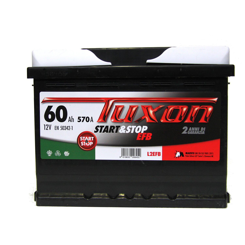 100% de satisfaction gros remise économiser jusqu'à 80% Tuxon batteria auto Start&Stop 60 Ah