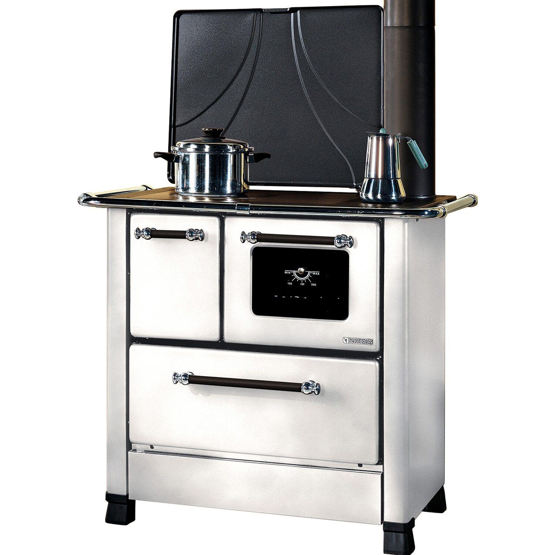 Cucina A Legna Nordica Romantica.La Nordica Cucina A Legna Romantica 3 5 Bianco Acquista Da Obi