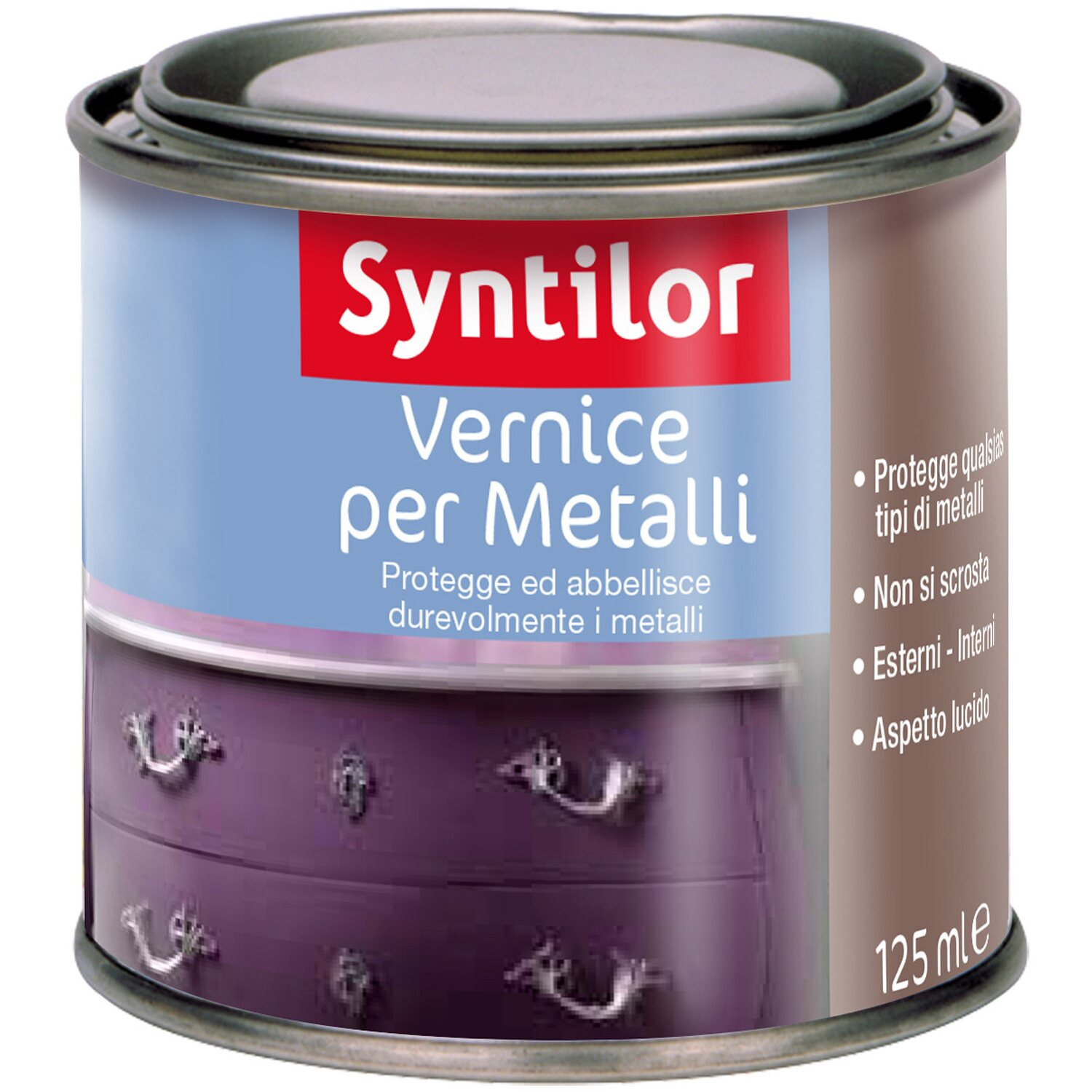 Vernice per metalli effetto incolore 125 ml acquista da obi for Vernice per ferro