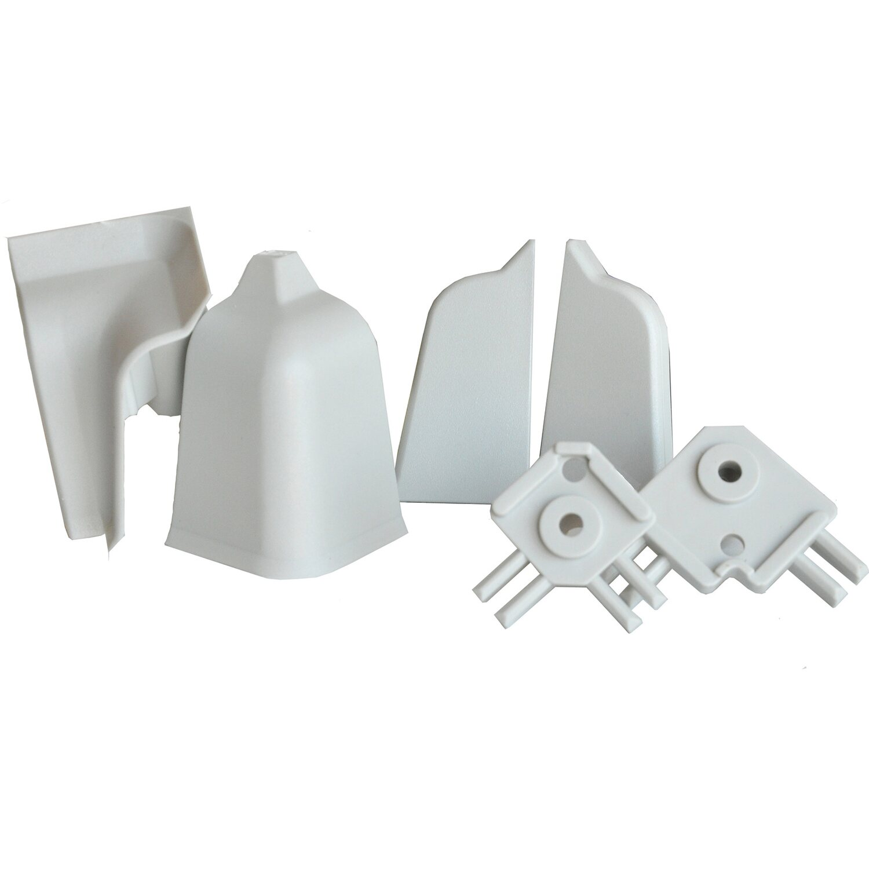 Accessori per alzatina rettangolare grigia 45 mm x 25 mm ...