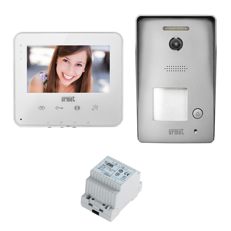 stili freschi offrire acquistare URMET kit videocitofono monofamiliare con viva-voce e display 5