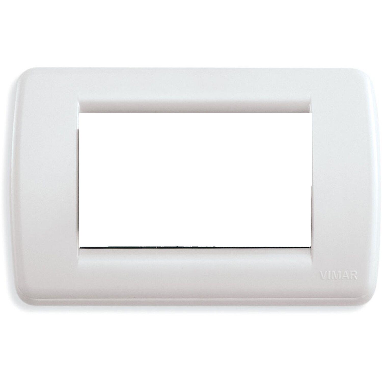 Vimar idea placca rond 3m tecnopolimero colore bianco - Interruttori elettrici vimar ...