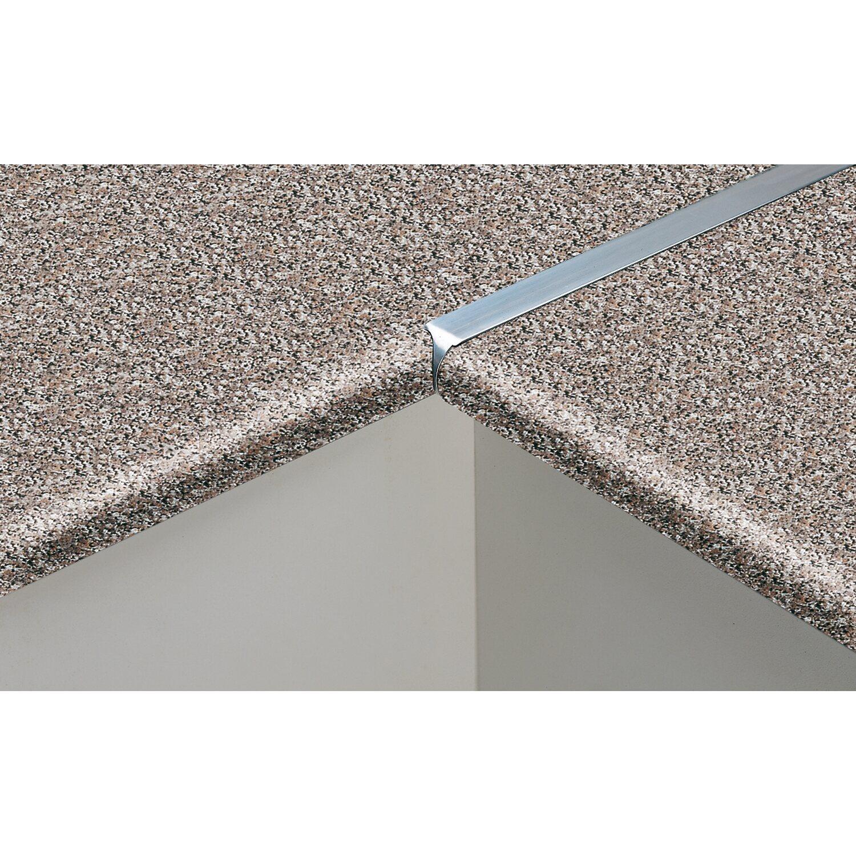 Profilo di giunzione in alluminio per top da 38 mm acquista da OBI
