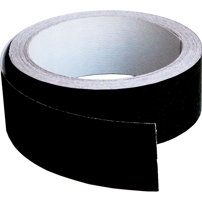 bordo melaminico per top cucina nero opaco 34 mm x 5 m