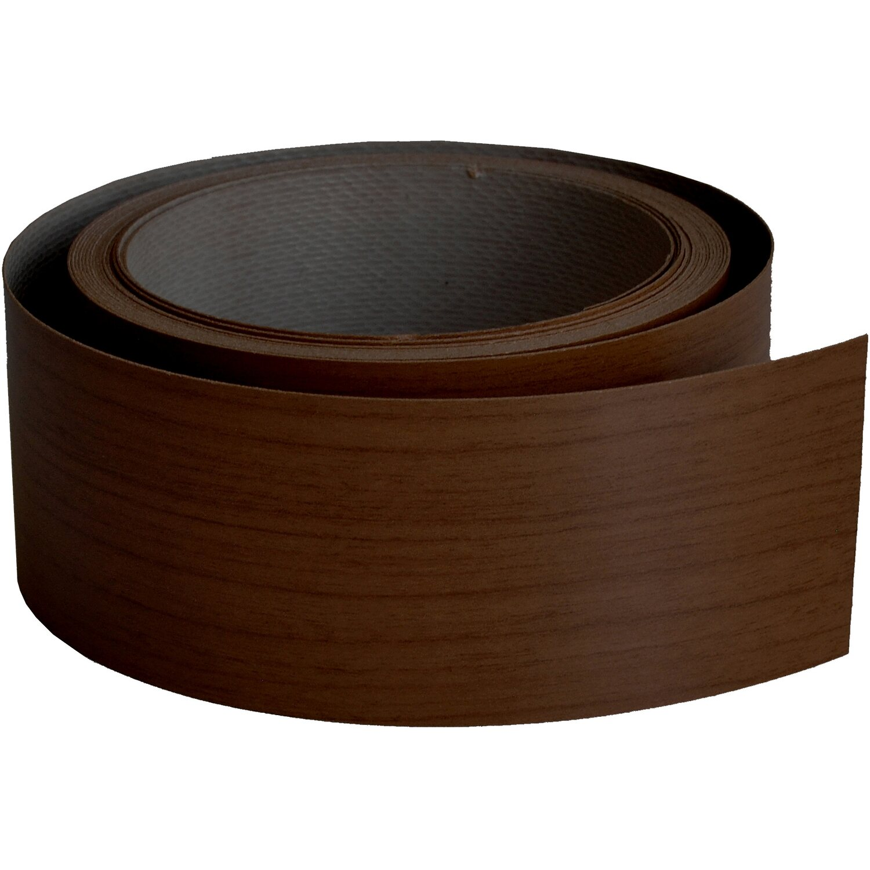 Bordo melaminico per top cucina noce scuro 34 mm x 5 m acquista da OBI