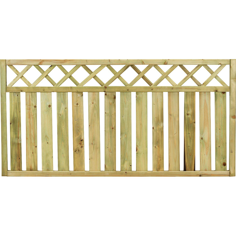 Recinzioni arelle e reti ombreggianti da obi for Recinzioni giardino legno