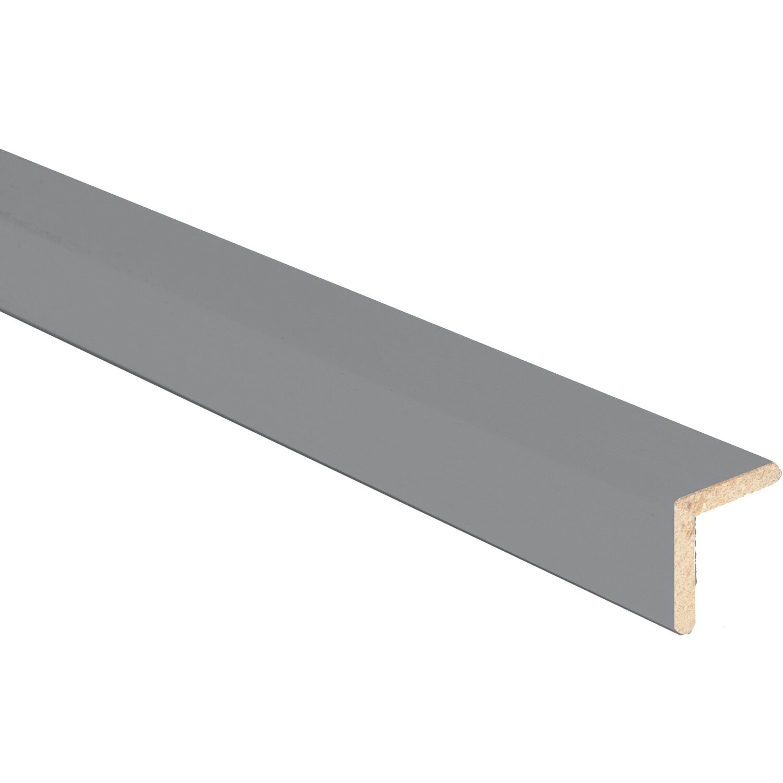 Paraspigolo in ayous liscio grigio 20 mm x 20 mm acquista for Finestre pvc obi