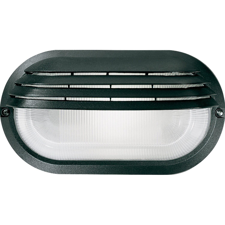 Plafoniera ovale grande con palpebra nera acquista da obi - Philips lampade esterno ...