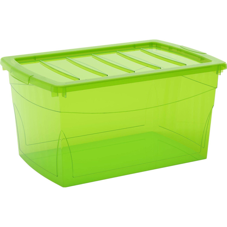 Kis contenitore multiuso con coperchio omni box verde l - Kis contenitori ...