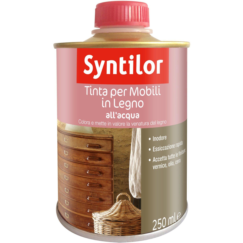 Finitura Legno Per Alimenti tinta per legno aquaréthane effetto ciliegio 250 ml