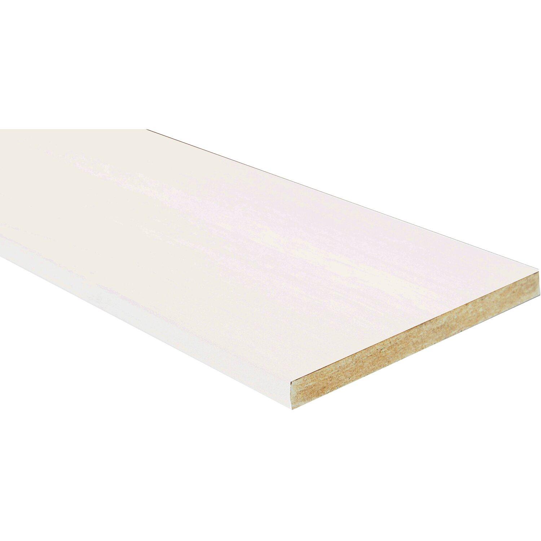Battisedia in mdf rivestito bianco 12 cm acquista da obi for Obi pannelli legno