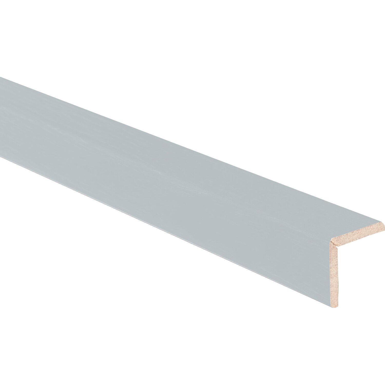 Paraspigolo in mdf rivestito in melaminico alluminio 278 for Finestre pvc obi